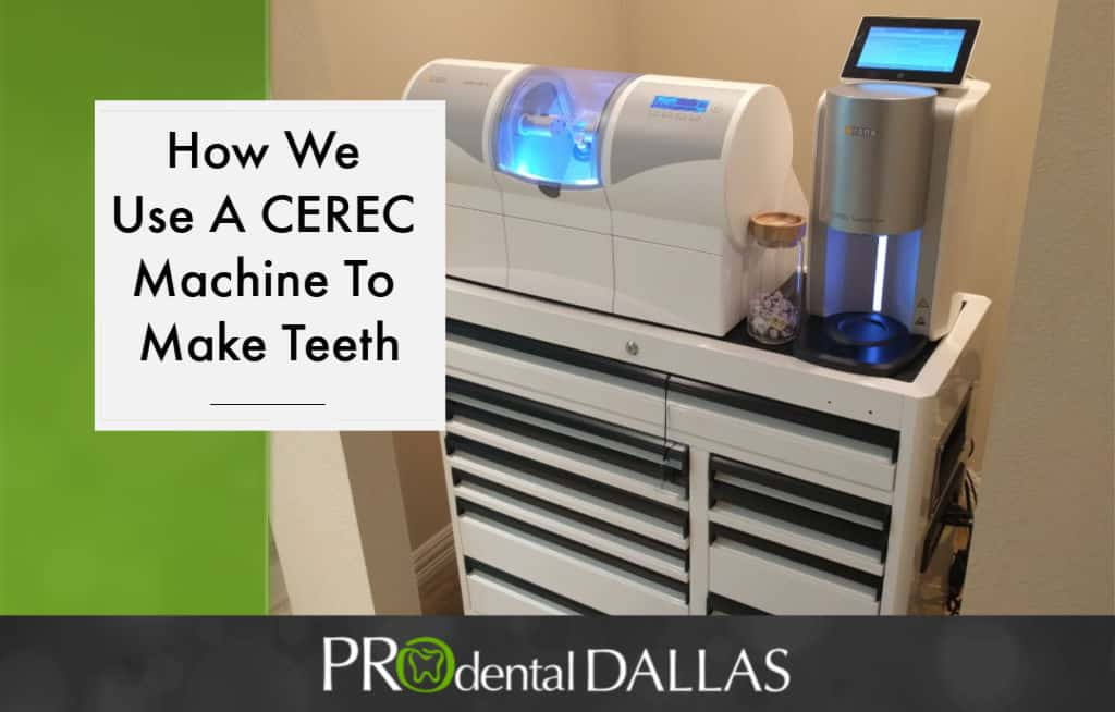 How We Use a CEREC Machine to Make Teeth