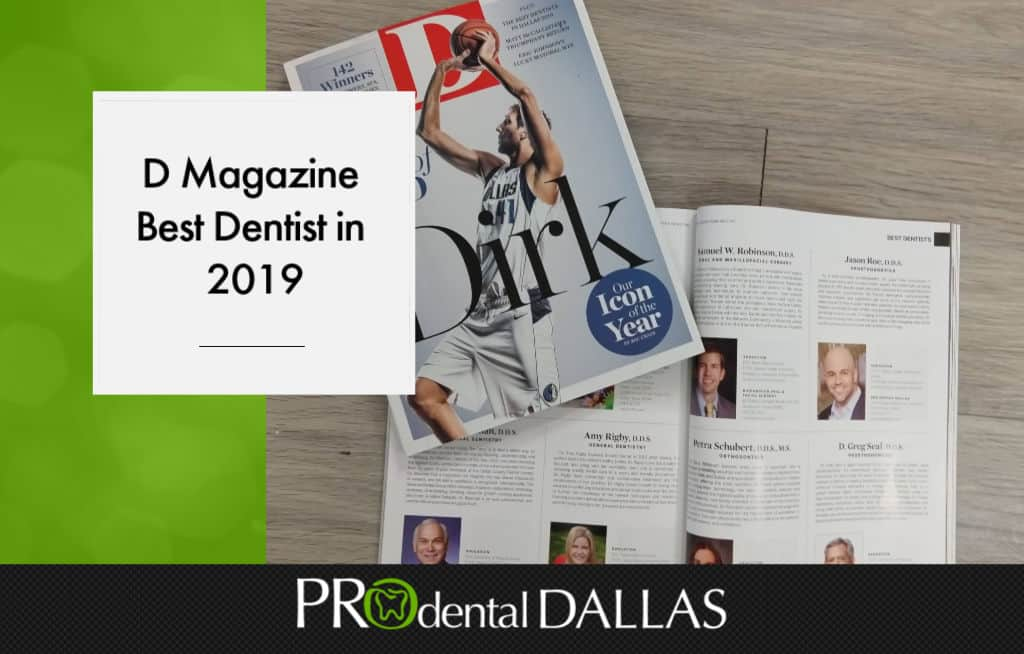 D Magazine Best Dentist in 2019